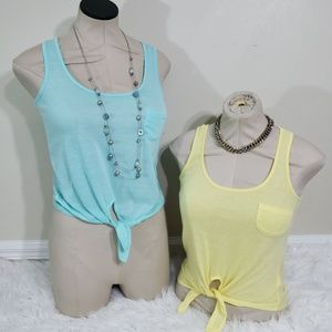 💙💛 Women's Tie Shirt Bundle Deal NWT